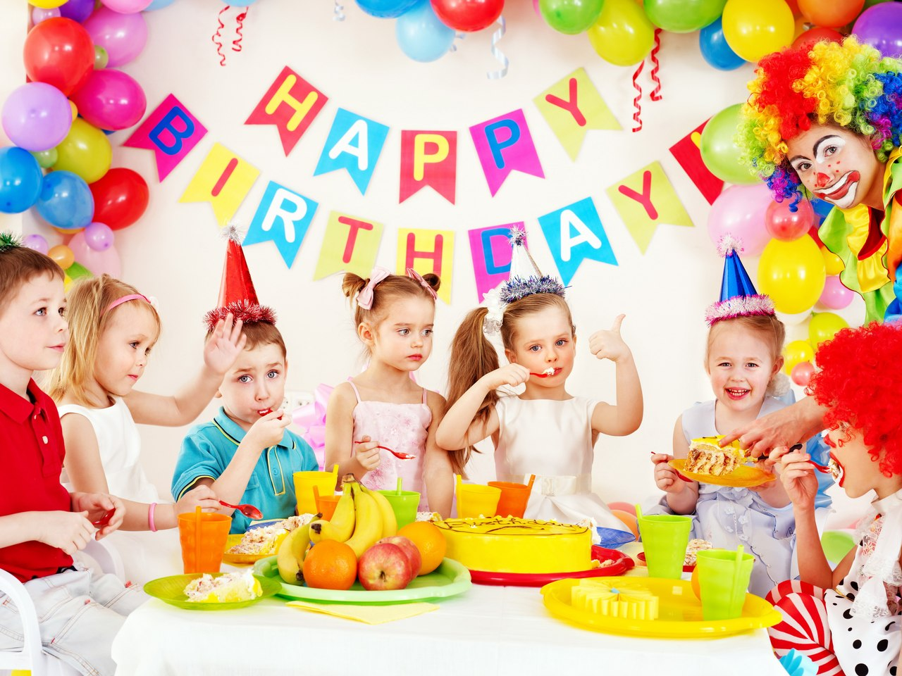 фото детского дня рождения фото