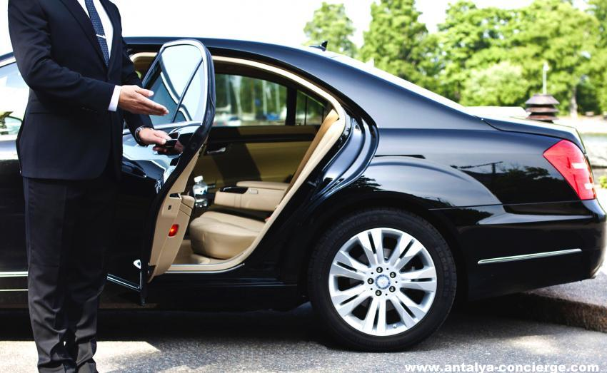Book Your individual car with private Chauffeur in Antalya.